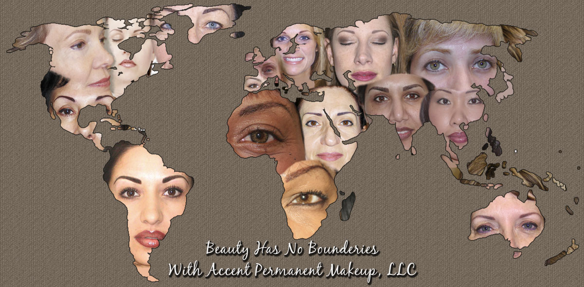 Permanent Makeup Lips, Liner, and Brows